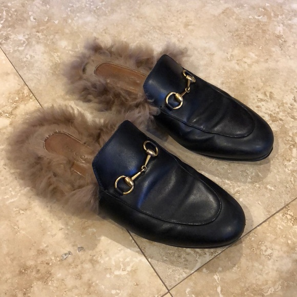 aeea0de28a6e Gucci Shoes - Gucci Princetown leather slipper
